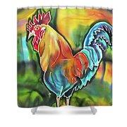 Island Cock Shower Curtain
