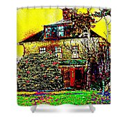 Island Cottage Shower Curtain