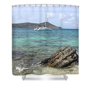 Island Dreaming Shower Curtain