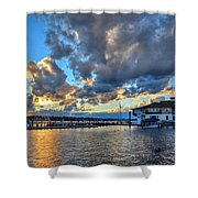 Island Heights  Shower Curtain