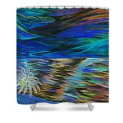 Island High Inverted Colours Shower Curtain