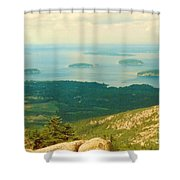 Island Hopping Shower Curtain