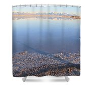 Island In The Desert 3 Shower Curtain