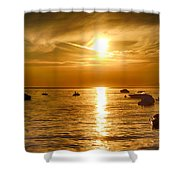 Island Life 5 Shower Curtain