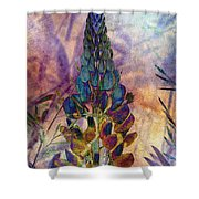 Island Lupin 6 Shower Curtain