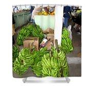 Island Market Shower Curtain