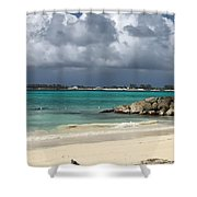 Island Oasis Shower Curtain
