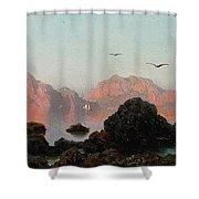 Island Of Capri Shower Curtain