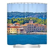 Island Of Krapanj Waterfront View Shower Curtain