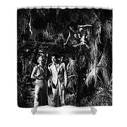 Island Of Lost Souls 1932 Leila Hyams Richard Arlen Kathleen Bur Shower Curtain