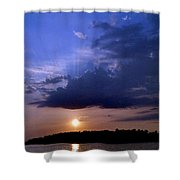 Island Peace Shower Curtain