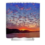 Island Sunrise Shower Curtain