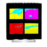Islands Shower Curtain by Eikoni Images