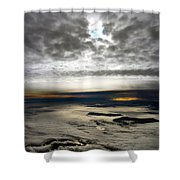 Islands In The Clouds Shower Curtain