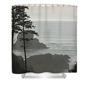 Islands In The Mist Shower Curtain