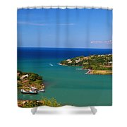 Islands In The Stream Shower Curtain