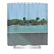 Islands Islands Islands  Shower Curtain