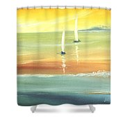 Islands Shower Curtain