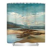 Islay Beach Shower Curtain