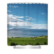 Isle Of Arran Under Cloud Shower Curtain
