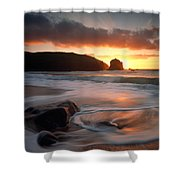 Isle Of Lewis Outer Hebrides Scotland Shower Curtain