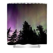 Isle Royale Aurora  Shower Curtain