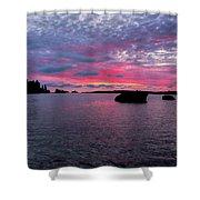 Isle Royale Belle Isle Dawn Shower Curtain