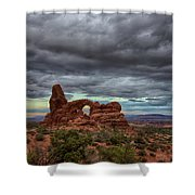 Isolated Arch Shower Curtain