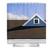 Isosceles Shower Curtain