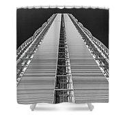 Isozaki Tower - Allianz Shower Curtain