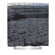 Israel, Jerusalem Mount Of Olives Shower Curtain