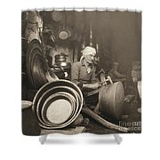 Israel: Metal Workers, 1938 Shower Curtain