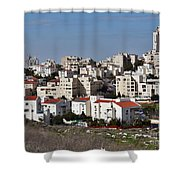 Israel Modiin  Shower Curtain
