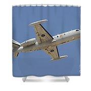 Israeli Air Force 1124n Seascan Patrol Shower Curtain
