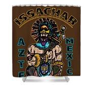 Issachar Aztec Warrior Shower Curtain