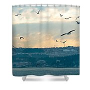 Istanbul, Morning Shower Curtain