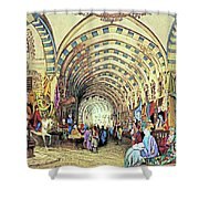 Istanbul Old Market Shower Curtain