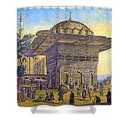 Istanbul Outdoor Bazaar Shower Curtain