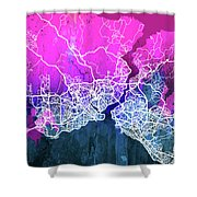 Istanbul Watercolor Shower Curtain