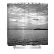 Istrian Peninsula Shower Curtain
