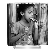 It Can Be Food Shower Curtain