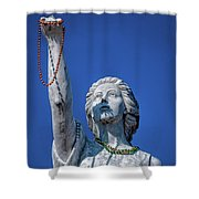 It Is All About The Beads-nola Shower Curtain