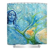 It Must Be True Love Shower Curtain