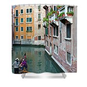 It Must Be Venice Shower Curtain