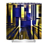 Where The Light Exists Shower Curtain