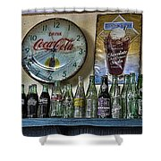 It Was Time For A Drink Shower Curtain