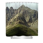 Italian Alps Shower Curtain