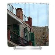 Italian Balcony  Shower Curtain