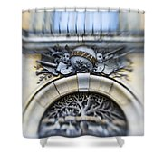 Italian Cherubs Shower Curtain