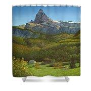 Italian Daydream Shower Curtain